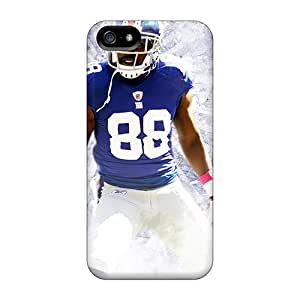 Perfect Hard Phone Case For Iphone 5/5s With Unique Design HD New York Giants Pictures LisaSwinburnson