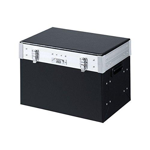 サンワサプライ セキュリティファイルボックス A4ファイル4冊収納 SLE-F002 A4ファイル4冊収納  B01IEOTNEM
