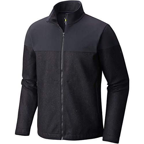 Mountain Hardwear Men's Zerogrand Neo Fleece Full Zip Jacket, Black, M