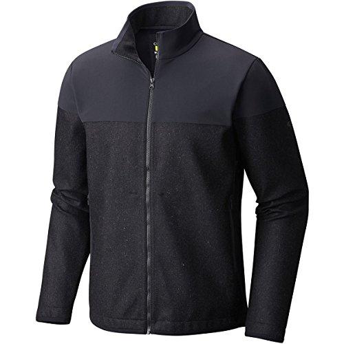 Mountain Hardwear Men's Zerogrand Neo Fleece Full Zip Jacket, Black, L