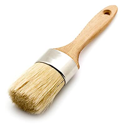 Bruegel Round Paint Brush Perfect for Chalk Paint & Wax 2 Inch Diameter