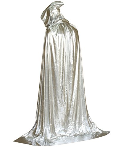 Unisex Hooded Robe Cloak Role Cape Play Family Costumes Full Length, Fancy Halloween Cosplay Costume (170cm, (Kids Halloween Movies Full Length)
