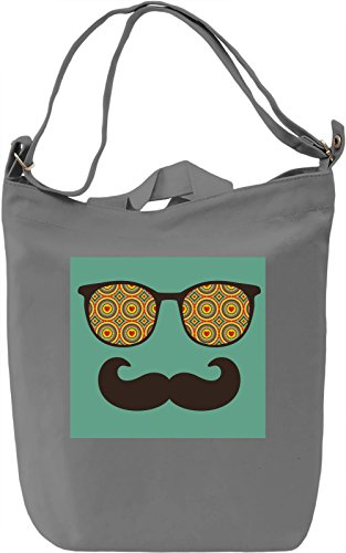 Eyeglasses Borsa Giornaliera Canvas Canvas Day Bag| 100% Premium Cotton Canvas| DTG Printing|