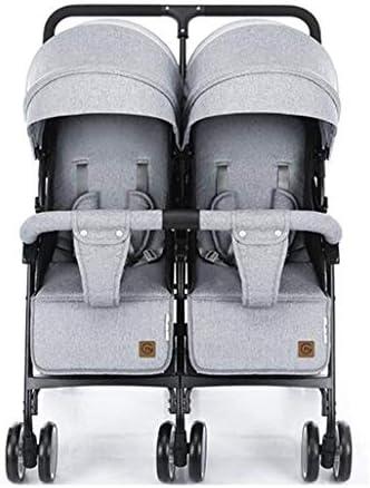 Double Twin Stroller Canopy Walker Seat Baby UV Foldable Tray Rain Recliner