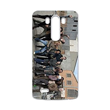 walking dead cuarta temporada Phone Case for LG G3: Amazon.de ...