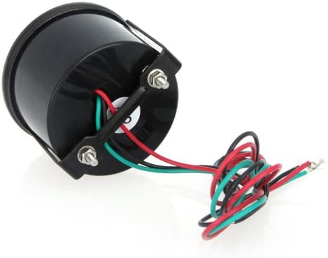 Docooler/® Digital Tachometer Tach Gauge for Auto Car 52mm 2in LCD 0~9999RPM Warning Light Black Kelllelldaaa K975