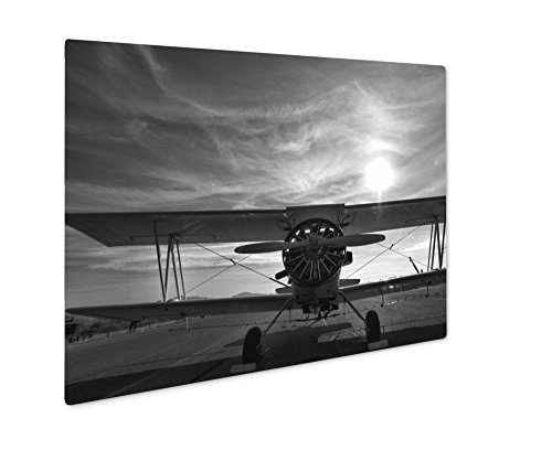 (Ashley Giclee A Crop Duster Sits On A New Mexico Runway, Wall Art Photo Print On Metal Panel, Color, 8x10, Floating Frame, AG6398377)