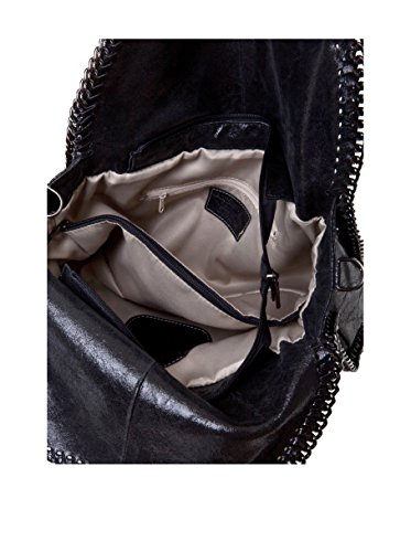 Massimo Castelli 126 Épaule Noir Sac Porté Femme Black AZTA1