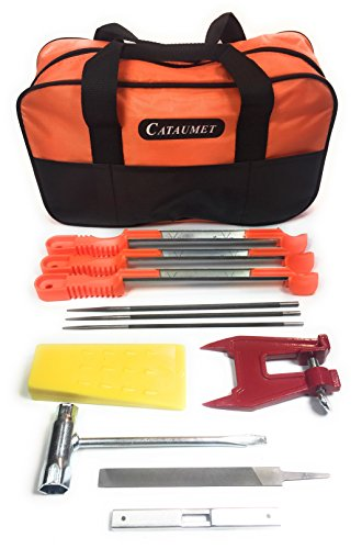 CATAUMET Chainsaw Sharpener File Kit - Includes 5/32