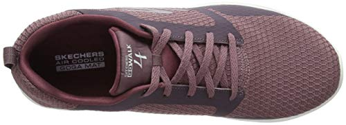 Mve Mujer Morado Mauve Skechers 4 Walk para Zapatillas Go xSqAfX8