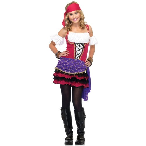 Crystal Ball Gypsy Teen/Junior Costume - Teen (Party City Halloween Costumes For Juniors)