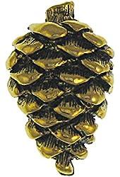 Pine Cone Gold Lapel Pin