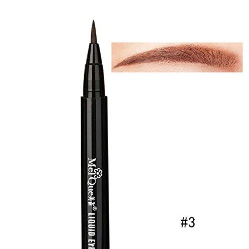 Hankyky Waterproof Eyebrow Pen Liquid Brow Definer Makeup Cosmetic tool Brow Liner