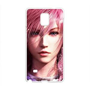 Final fantasy Pink girl Cell Phone Case for Samsung Galaxy Note4 hjbrhga1544