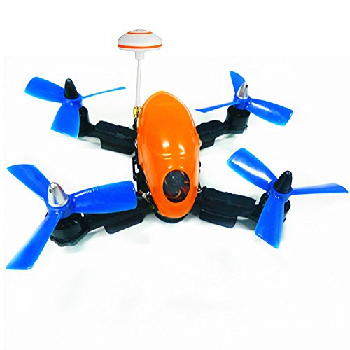 Lieber 2017 hot sale 5.8G 4-Axis 150MM RC Toy Drone with Openpilot CC3D Flight Control & HD Camera Quadcopter Toy Drone - Orange