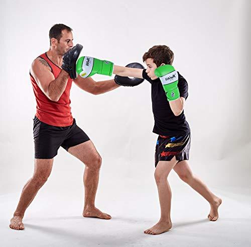 Kids Boxing Gloves Junior Punching Bag Mitts Muay thai Training Sparring 6oz