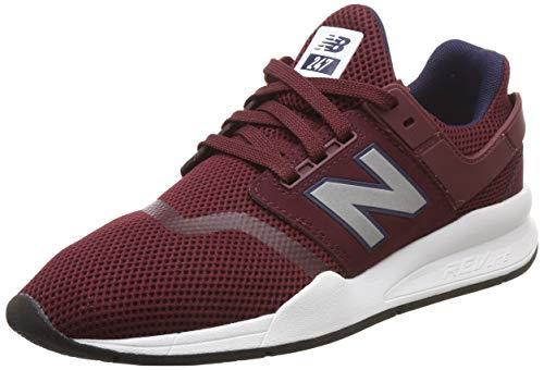 New Rosso Burgundy Fg Balance nb silver Uomo Sneaker 247v2 qw1rSqfU