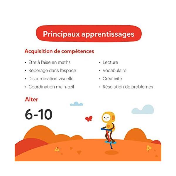 Osmo Genius 901-00045 - Cofanetto completo (versione francese) - 5 mondi di giochi da 6 a 10 anni - Risoluzione di problemi e creatività, scienze, ingegneria, matematica (base iPad inclusa), 901-00045 7 spesavip