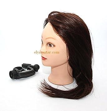 Elysee Star® Peluquería 90% con abrazadera para la práctica de cabeza de Formación Profesional