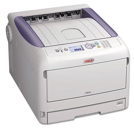 Amazon.com: OKI62441001 - Oki C831n Digital Color Printer ...