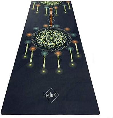 Yoga mat ラバーフィットネスヨガマットファッションを印刷スポーツ花マットフラットサポートヨガマット workout