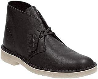Clarks Men's Desert Boot Chukka Boot, Black Leather, 10 M US (B01MZ8IIQX)   Amazon price tracker / tracking, Amazon price history charts, Amazon price watches, Amazon price drop alerts