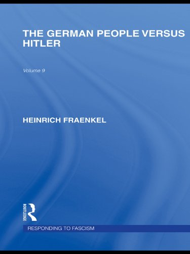 The German People versus Hitler (RLE Responding to Fascism) (Routledge Library Editions: Responding to Fascism) Pdf
