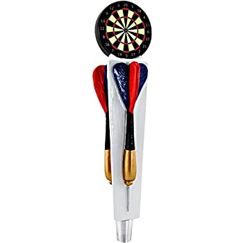 Dartboard Draft Beer Keg Tap Handle