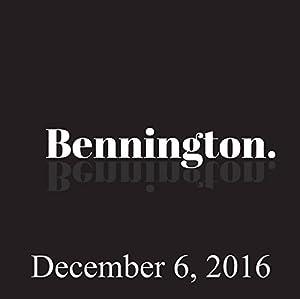 Bennington, December 6, 2016 Radio/TV Program