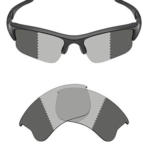 Mryok Polarized Replacement Lenses for Oakley Flak Jacket XLJ - Grey ()