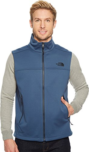 The North Face Sleeveless Vest (The North Face Men's Apex Canyonwall Vest Shady Blue/Shady Blue Large)