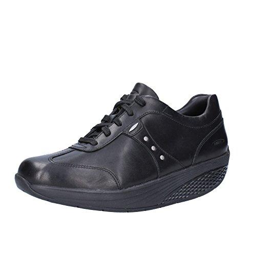 Negro Eu Mbt Cuero 37 Mujer Sneakers 1RRqAwTx8
