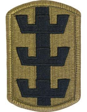 130th Engineer Brigade Scorpion OCP Patch with Fastener ()