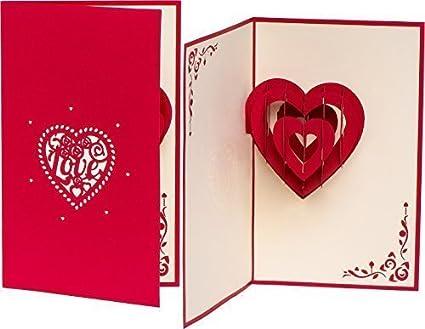 Invitación de boda tarjeta del Día de San Valentín