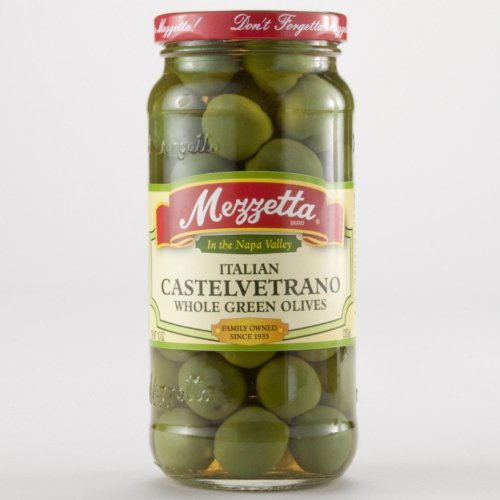 Mezzetta Castelvetrano Olives 10 oz. (Pack of 6)