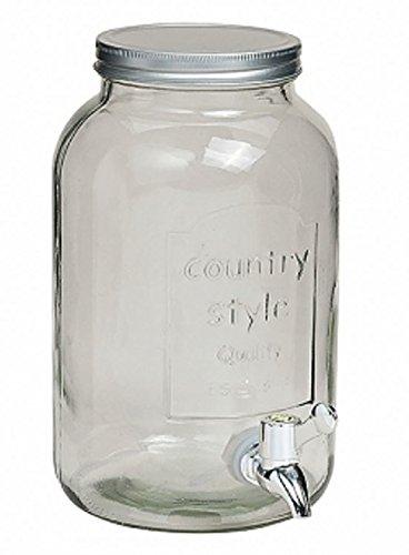 meindekoartikel Cristal Barril 6 litros con grifo (– Barril con grifo (– Dispensador de