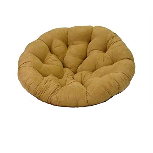 Blazing Needles Solid Microsuede Papasan Chair Cushion, 48