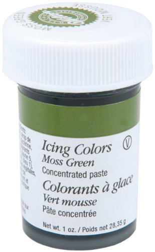 Wilton Icing Colors, 1-Ounce, Moss Green