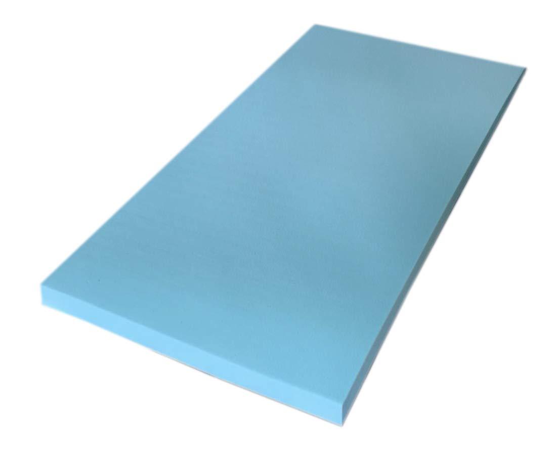 135X180 Silverprince Topper ortop/édico viscoel/ástico de Espuma con Efecto Memoria Densidad de 55 Grosor 5 cm Cara Inferior Tejido Airfresh 3D Transpirable Aloe Vera Easy Clean