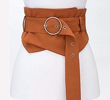 YISANLING-YD Faja Cinta de Tela Cinturón Faja Decorativa Falda Cinturón  Ancho Marrón  Amazon.es  Deportes y aire libre c2d3529cd892