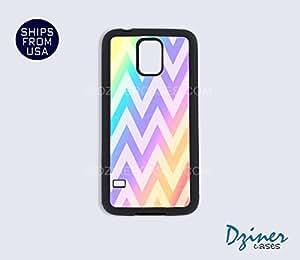 Galaxy S4 Case - Rainbow Chevron