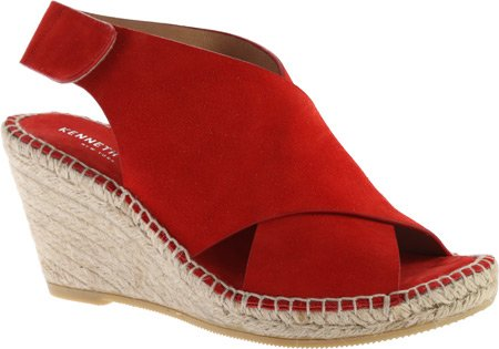 Kenneth Cole New York - Sandalias de vestir para mujer Tomato Suede