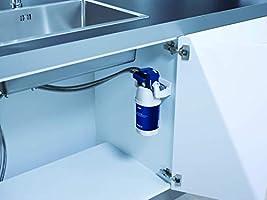 BRITA My Pure - Grifo de Agua con Filtro para 12 Meses, Acero Inoxidable, Plateado, Sistema: Amazon.es: Hogar