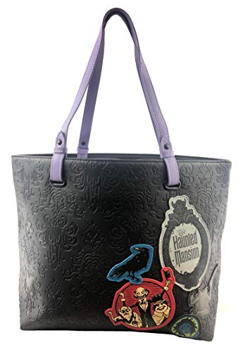 Disney Loungefly Haunted Mansion 50th Anniversary Tote Bag Purse