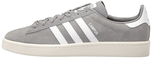 Adidas White Nubuck Three Footwear Trainers Grey Campus Mens r8Oq7Ar