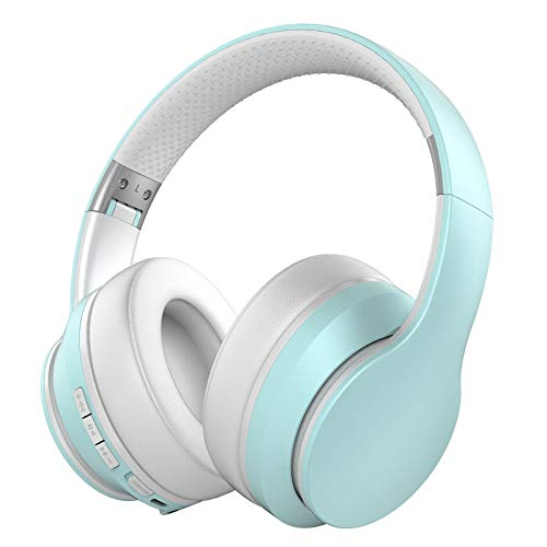 Baseman Active Noise Cancelling Headphones Bluetooth 5.0 Wireless Headphone Over Ear, Deep Bass Boosted Headphones with…