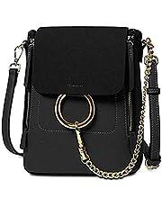 FairyBridal Luxury Women Real Leather Satchel Crossbody Handbags,Backpack 3 Colors