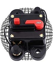 ERTLKP Stroomonderbreker Reset zekeringhouder DC12-24V 40Amp -300Amp Waterdichte Auto Audio Circuit Breaker met Handmatige Reset voor Motor Auto Marine Boot Bike Stereo Audio Automatische Zekering Reset Zekering