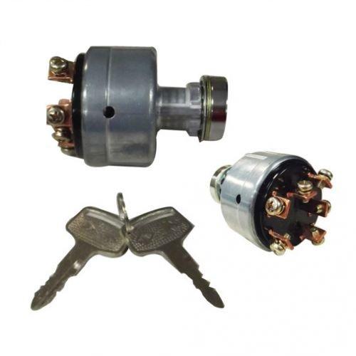 Ignition Key Switch Mitsubishi Satoh Case IH International 235 245 244 254 255 234 1120 1130 MT180 1140 MT250 MT372 MT210 MT2001 D2000 S750 MT2501 MT1401 MT1801 MT1601 MT160 MT300 S370 D1300 MT300D