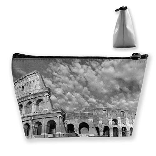 Buildings Landscape Pen Stationery Pencil Case Cosmetic Makeup Bag Pouch ()